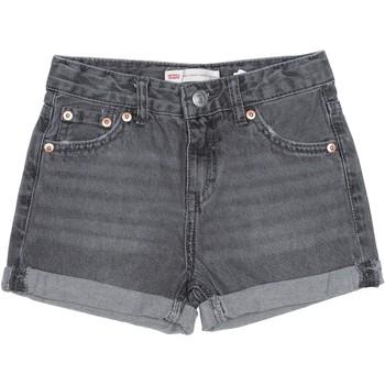 Vêtements Fille Shorts / Bermudas Levi's Short fille délavé Gris