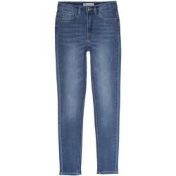 Vêtements Fille Jeans slim Levi's Jeans fille délavé Bleu