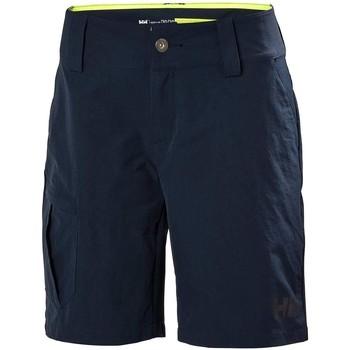 Vêtements Femme Shorts / Bermudas Helly Hansen W QD CARGO SHORTS blanc