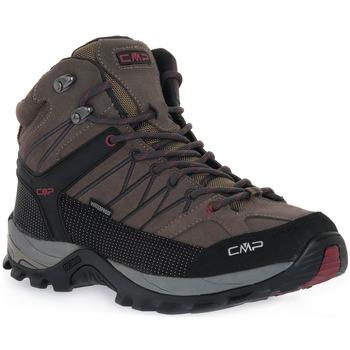 Chaussures Femme Running / trail Cmp 02PD RIGEL MID TREKKING Grigio
