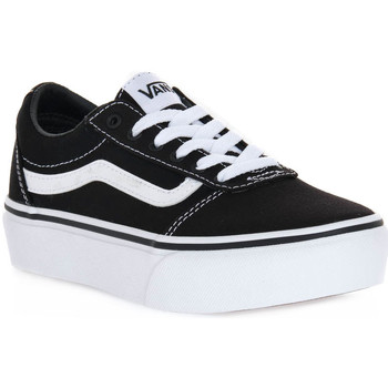 Chaussures Fille Baskets mode Vans 187 WARD PLATFORM Nero