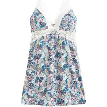 Vêtements Femme Pyjamas / Chemises de nuit Pommpoire Nuisette bleu Iceland Bleu