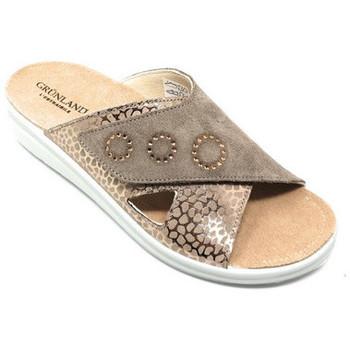 Chaussures Femme Mules Grunland CIABATTA GRÜNLAND - DABY 0747 TAUPE Beige
