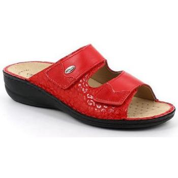 Chaussures Femme Mules Grunland CIABATTA GRÜNLAND - 0671 ROSSO DARA rouge