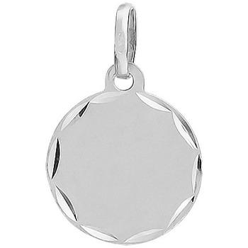 Montres & Bijoux Pendentifs Cleor Médaille  en Or 375/1000 Blanc Blanc