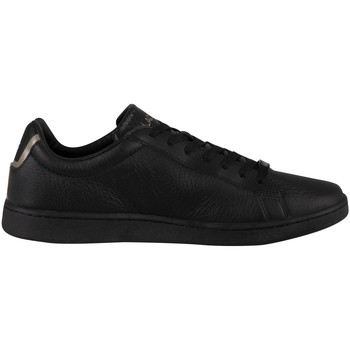 Chaussures Homme Baskets mode Lacoste Carnaby Evo 0721 3 Baskets en cuir SMA noir