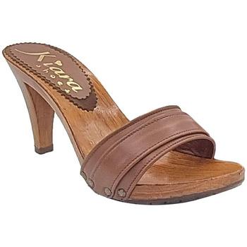 Chaussures Femme Sandales et Nu-pieds Kiara Shoes K6104 Marron