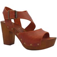 Chaussures Femme Sandales et Nu-pieds My Clogs MY138 Marron