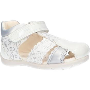Chaussures Fille Sandales et Nu-pieds Geox B151QC 0HI10 B ELTHAN Blanco