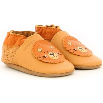 Chaussures Garçon Chaussons bébés Robeez Grooar CAMEL