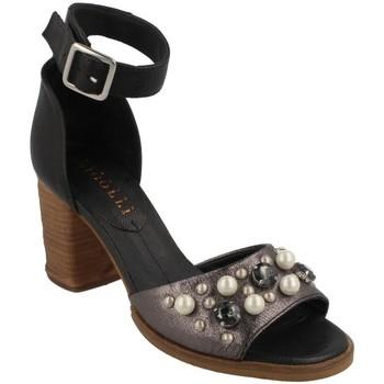 Chaussures Femme Sandales et Nu-pieds Fabbrica Dei Colli  Negro