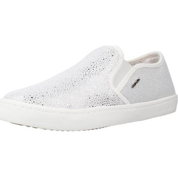 Chaussures Fille Baskets basses Geox J KILWI GIRL Gris