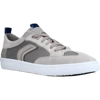 Chaussures Homme Baskets basses Geox U WARLEY Gris
