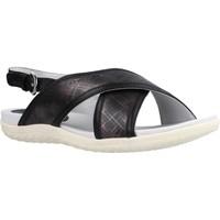 Chaussures Femme Sandales et Nu-pieds Geox D SANDAL VEGA Noir
