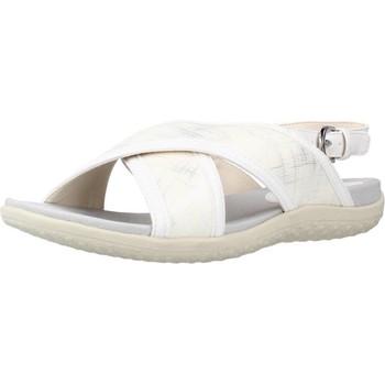 Chaussures Femme Sandales et Nu-pieds Geox D SANDAL VEGA Blanc