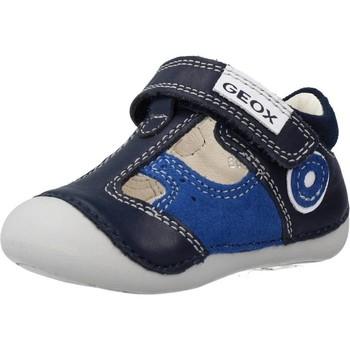 Chaussures Garçon Baskets basses Geox B TUTIM B. A Bleu