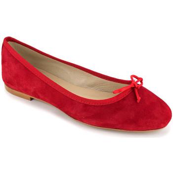 Chaussures Femme Derbies J.bradford JB-MIRIAM rouge Rouge