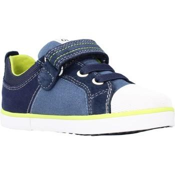 Chaussures Garçon Baskets basses Geox B KILWI BOY B Bleu