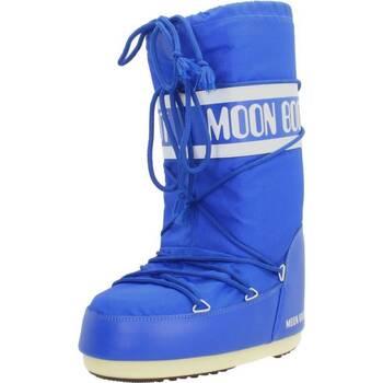 Chaussures Femme Bottes Moon Boot 14004400 075 Bleu