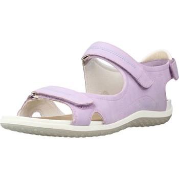 Chaussures Femme Sandales sport Geox D SANDAL VEGA A Violet