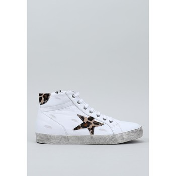 Chaussures Femme Baskets montantes Top3  Blanc