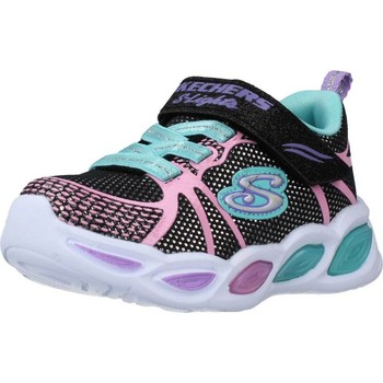 Chaussures Fille Baskets basses Skechers SHIMMER BEAMS SPORTY GLOW Noir