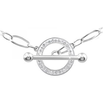 Montres & Bijoux Femme Colliers / Sautoirs Sc Crystal B2564 Argenté