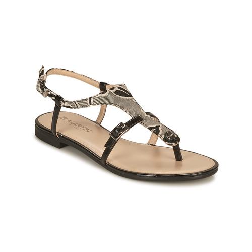 Chaussures Femme Sandales et Nu-pieds JB Martin 2GAELIA noir