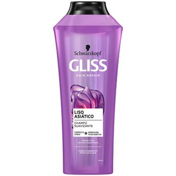 Beauté Shampooings Schwarzkopf Gliss Liso Asiatico Champú  370 ml