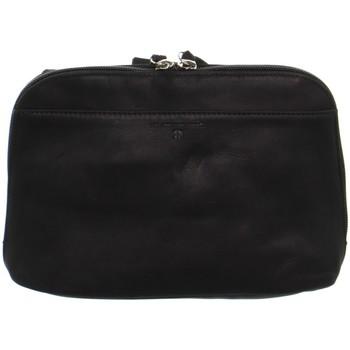 Sacs Femme Sacs Bandoulière Baroudeur Sac porté travers en cuir Baroudeuse ref51300 Noir Noir