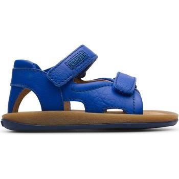 Chaussures Enfant Sandales et Nu-pieds Camper Sandales cuir BICHO bleu
