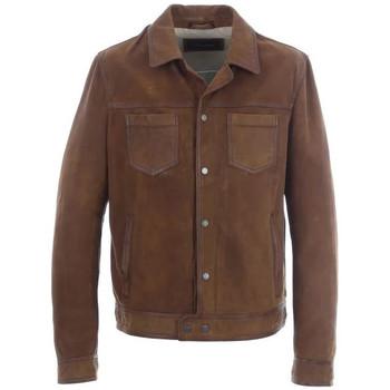 Vêtements Homme Vestes en cuir / synthétiques Oakwood BAY WHISKY 508 Whisky
