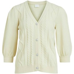 Vêtements Femme Gilets / Cardigans Vila  Beige