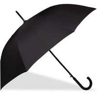 Accessoires textile Homme Parapluies Isotoner Parapluie canne ultra sec Noir