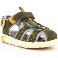 Chaussures Garçon Sandales et Nu-pieds Kickers Jumange KAKI