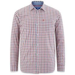 Vêtements Homme Chemises manches longues TBS CESARCHE Bleu marine