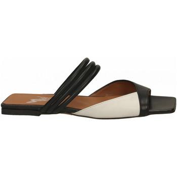Chaussures Femme Mules Mivida NAPPA nero-bianco