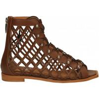 Chaussures Femme Sandales et Nu-pieds Mivida VITELLO cuoio