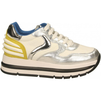 Chaussures Femme Baskets basses Voile Blanche MARAN POWER silver-white-yellow