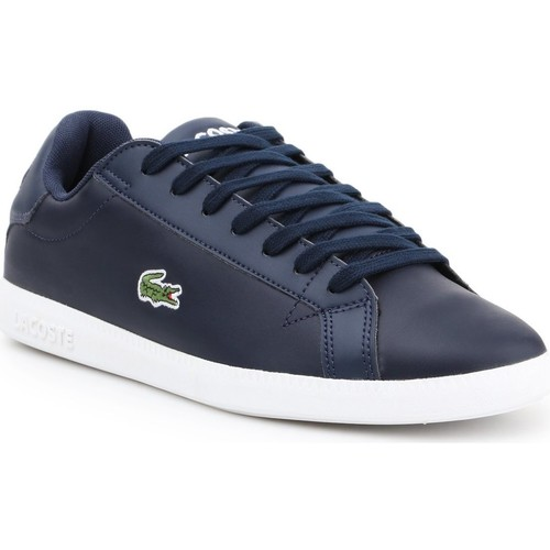 Chaussures Homme Baskets basses Lacoste 7-37SMA0053092 granatowy