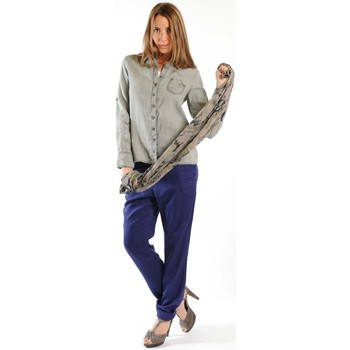 Vêtements Femme Chemises manches longues Sud Express CHEMISE CATI BRONZE Or