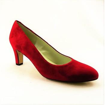 Chaussures Femme Escarpins Perlato 8909VELR ROUGE