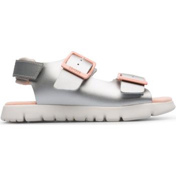 Chaussures Enfant Sandales et Nu-pieds Camper Sandales cuir ORUGA grismtallique