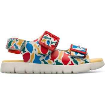 Chaussures Enfant Sandales et Nu-pieds Camper Sandales cuir ORUGA rouge