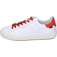 Chaussures Homme Baskets basses Woolrich Sneakers Cuir Blanc