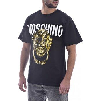 Vêtements Homme T-shirts manches courtes Moschino ZA0716 Noir