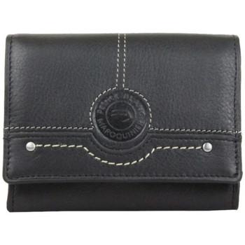 Sacs Homme Pochettes / Sacoches Patrick Blanc Porte monnaie en cuir  CX Noir Multicolor