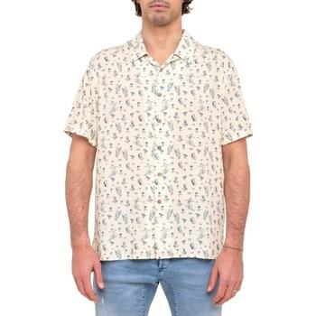 Vêtements Homme Chemises manches courtes Pullin Chemise mixte  WAVEBABE MULTICOLORE