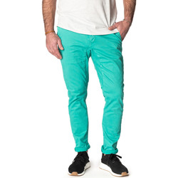 Vêtements Homme Pantalons Pullin Pantalon  DENING CHINO CERAMIC VERT