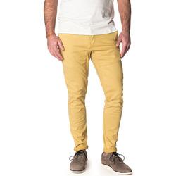 Vêtements Homme Chinos / Carrots Pullin Pantalon  DENING CHINO LIMELIGHT JAUNE